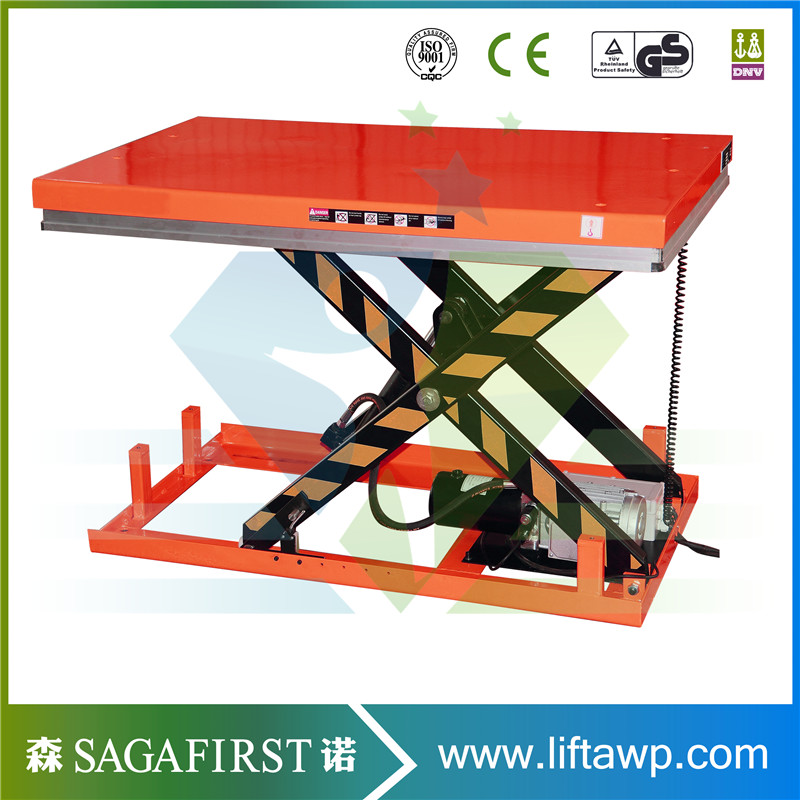 1000kg 2000kg 4000kg Electric Hydraulic Lift Table For Sale