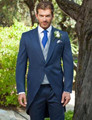 New Custom Made Handmade  Wedding Suits Groom Tuxedos Suits Formal Party Suits(Jacket+Pants+Vest+Tie)
