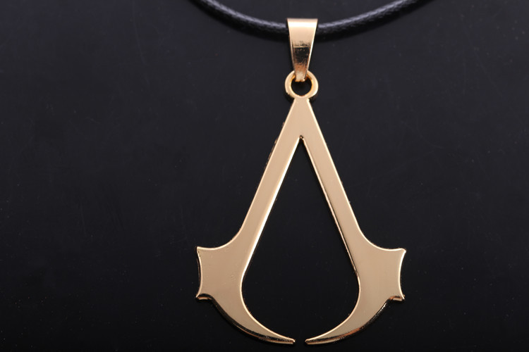 Assassins creed logo necklace jewelry assassins creed for Bulk jewelry chain canada