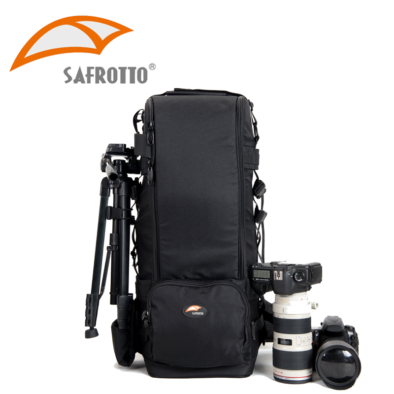 Safrotto Professional Photographic 600mm Lens Case Protector Long Camera Telephoto Lens Shoot DSLR Backpack For Canon Cannon Bag general xl lens bag case for common camera lens