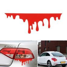 NEW Red Blood Drip Bleeding Zombie Reflective Graphics Auto Decal Sticker