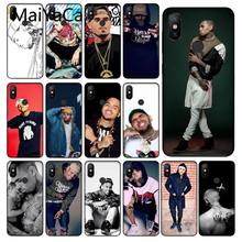 MaiYaCa Chris Brown Breezy Luxury Unique Design Phone Cover for Xiaomi Mi 6 8 8 SE Note 3 Mi Note 3 Mix 2 2s Resmi 5 Coque Shell(China)