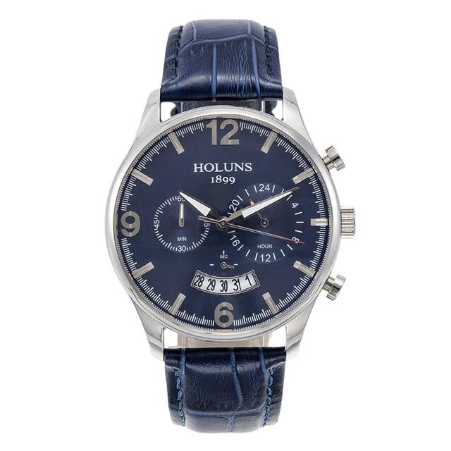 8b52357dcd5 Relógios dos homens a melhor marca de luxo À Prova D  Água Moda relógios  luminosos
