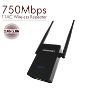 750Mbps Wireless WiFi Repeater Amplifier Signal Booster 2 4G 5 8G Dual Band Wireless Router Wifi
