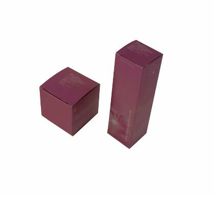 Wholesale Custom Printed White Card Foldable Cosmetic Packaging Paper Box