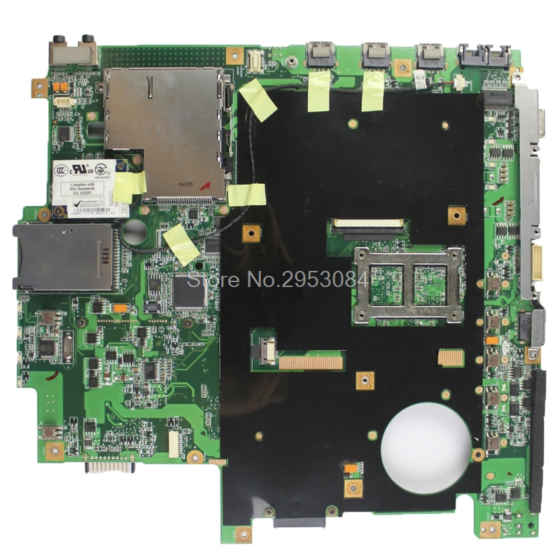 for asus F5Z Laptop motherboard X50Z mainboard NPZMB1000-B07 100% tested 90days warranty S-4 for asus f5rl x50rl rev 2 0 laptop motherboard mainboard 08g2005fr20v 90days warranty