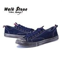 Men S Vulcanize Shoes Brand Summer Shockproof Casual Denim Canvas Shoes Male Sport Superstar Men Flats