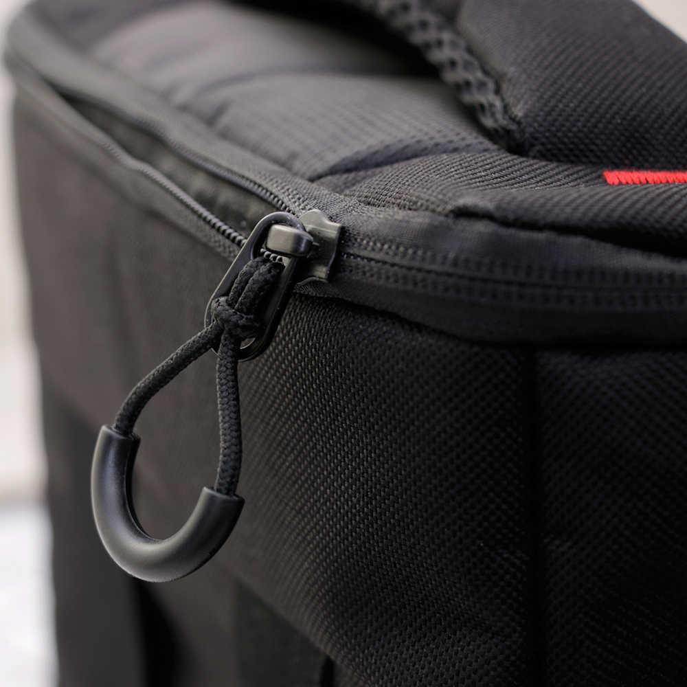 Alta qualidade New 5 Pcs/Lot 1 Cabo Anti-roubo Zíper Alça de Puxar Acessórios de vestuário Mochila acessórios de Vestuário saco de escola da lona