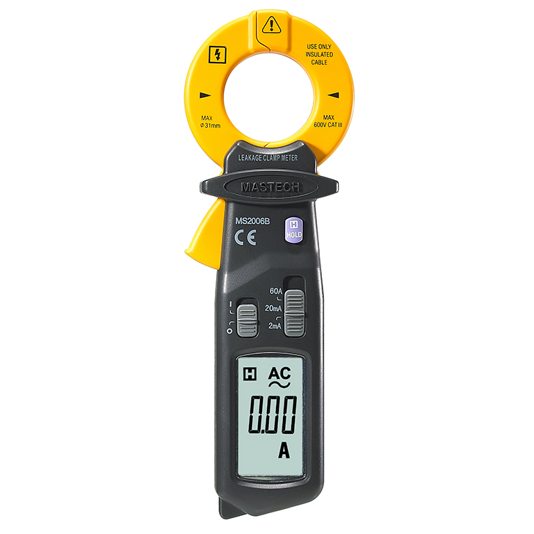 Digital clamp meter Mastech MS2006B High Sensitivity AC Leakage Clamp Meter AC Current Tester etcr030 high accuracy clamp leakage current sensor