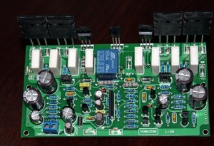 Image 4 - Çift AC18 34V L28 amplifikatör kurulu Mono 350W A1930 C5171 amplifikatör kurulu sonra sınıf ses amplifikatörü kurulu 20 20KHZ