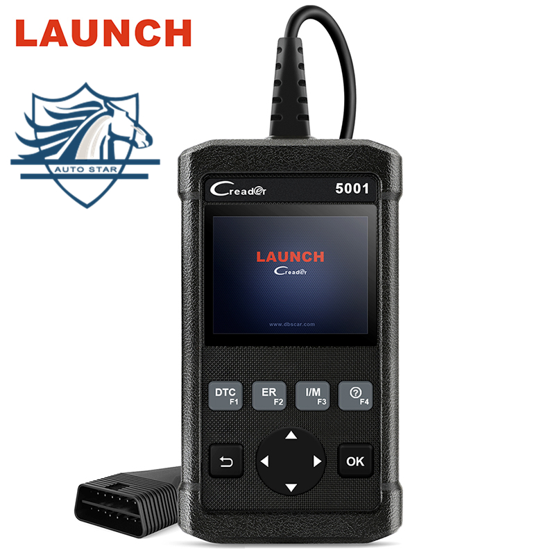 купить LAUNCH Creader CR5001 OBD Diagnostic Tool OBD2 Scanner Code Reader ODB2 Scan Tool Automotive Scanner in Portuguese PK KW850 по цене 2651.9 рублей