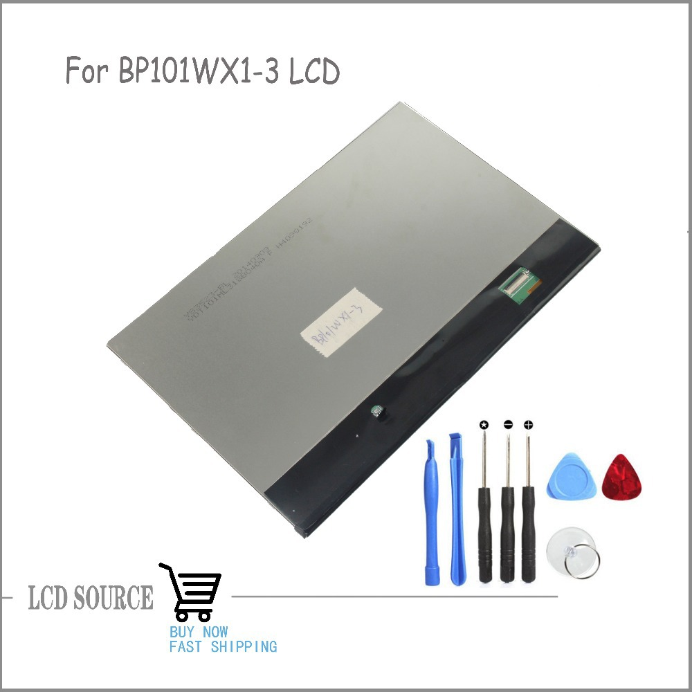 OEM 10.1 Inch For BP101WX1-3 LCD Display LCD Panel Glass Replacement Parts Free Tools