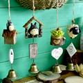 DIY Totoro wind chime для детей  украшение для дома  милое украшение для девочки  украшение для дома  колокольчик  подарок на день рождения  колокольчи...