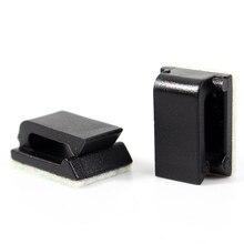 Провода, fixer галстука drop плоский зажимы автомобильные зажим клей организатор кабель