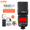 Godox Ving V860II V860II-S/N/C/F/O GN60 E-TTL фотокамер Speedlite HSS 1/8000 Li-Ion Батарея Вспышка Speedlite для sony <font><b>Nikon</b></font> Canon Olympus Fujifilm