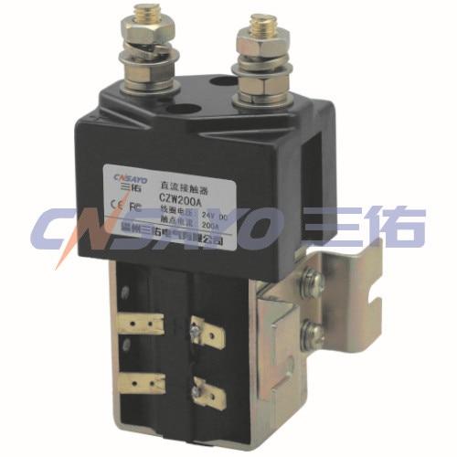 CZW200A/48V dc contactor new lp2k series contactor lp2k06015 lp2k06015md lp2 k06015md 220v dc