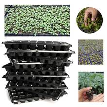 10Pcs/Pack 32 Cells Seedling Starter Nursery Pots Trays Seed Germination Garden Plants Propagation Garden Vegetables Farm Tools