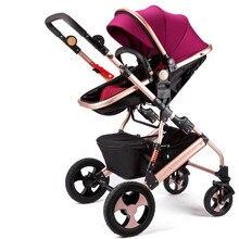 High View Baby Stroller Folding Poussette Stroller Bebek Arabasi Kinderwagen Baby Stroller