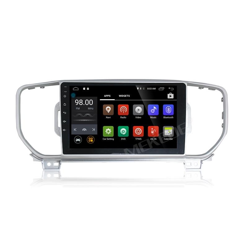 Android7.1 2G RAM 10.1inch car audio player for KIA sportage 2016 2017 kx5 car pc car radio stereo head unit gps navigator