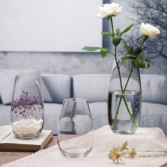 Living Room Flower Vases Ideas On Painting Home Decoration Pot A Vase For Flowers Glass Tabletop New Year Decor Craft Gifts