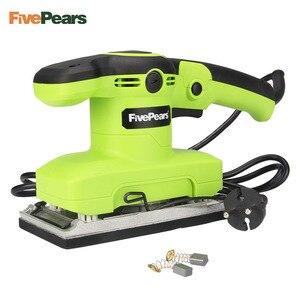 FivePears 320 W 14000 obr/min elektryczny szlifierka wykończenie szlifierka szlifierka wibracyjna do obróbki drewna polerowanie szlifowanie