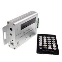 Sensore di luce e Regolatore di Tempo di Controllo dimmer regolare la luminosità, telecomando a infrarossi senza fili led dimmer 12 v 24 v per la striscia principale
