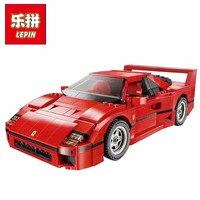 LEPIN Technic series Lepin 21004 Ferrarie F40 Sports Car Model Building Blocks Kits Bricks Toys Compatible with 10248