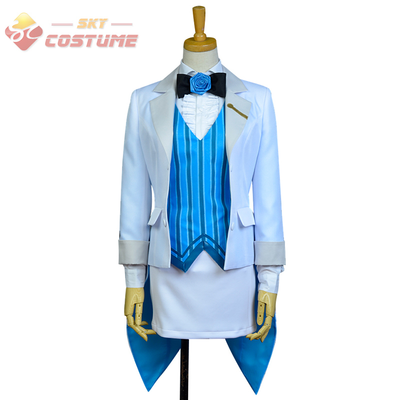 LoveLive! Love Live Eli Ayase Magicien Uniform With Hat Full Set Anime Halloween Cosplay Costumes New Arrival