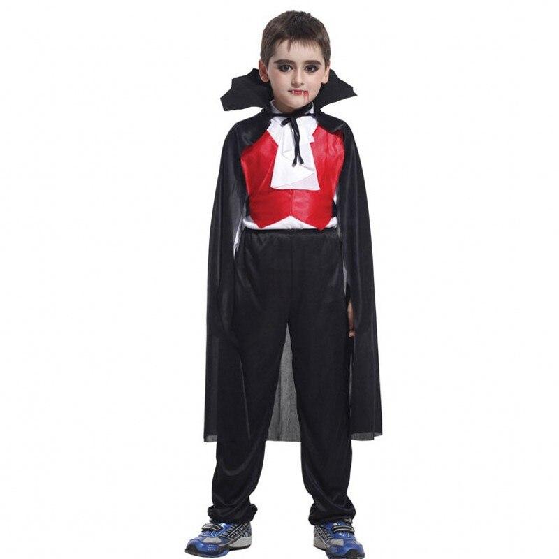 Vampire Costume Kids Halloween Fancy Dress