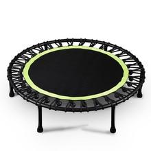 40-дюймовый приглушенный круглый батут для детей для ношения в помещении, развлекательный инструмент для взрослых Фитнес тренировки для стабильных тренировок несущей 150 кг