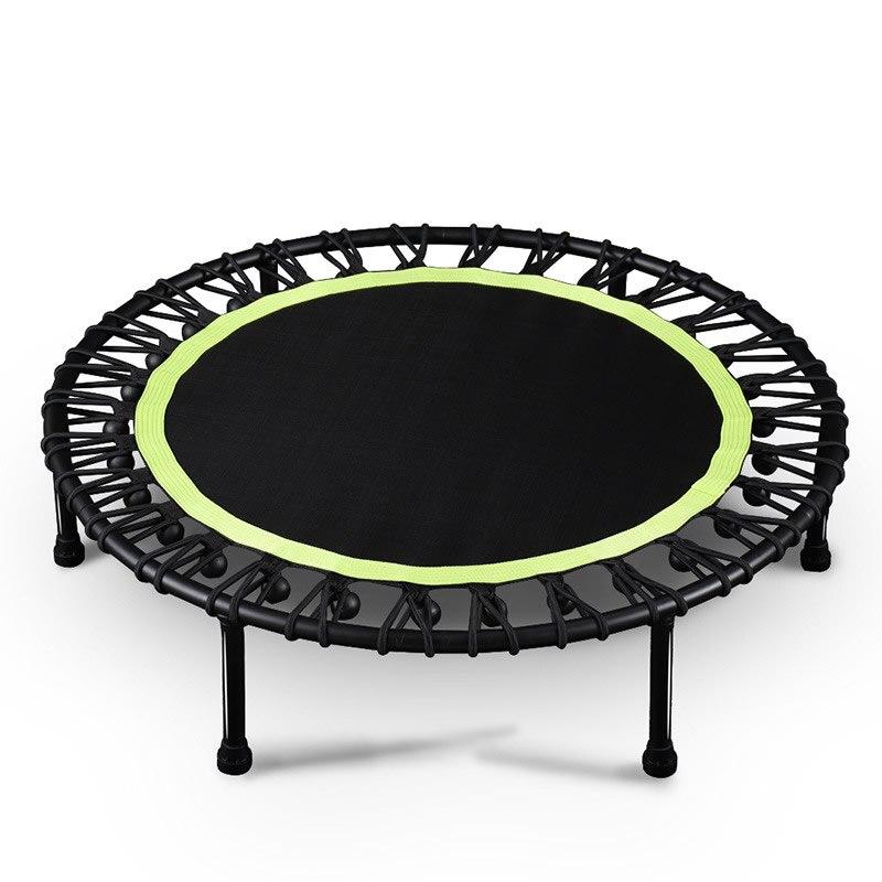 40 pulgadas de cama elástica redonda silenciada niños interior herramienta de entretenimiento para adultos Fitness entrenamiento estabilidad entrenamiento carga-Capacidad 150kg