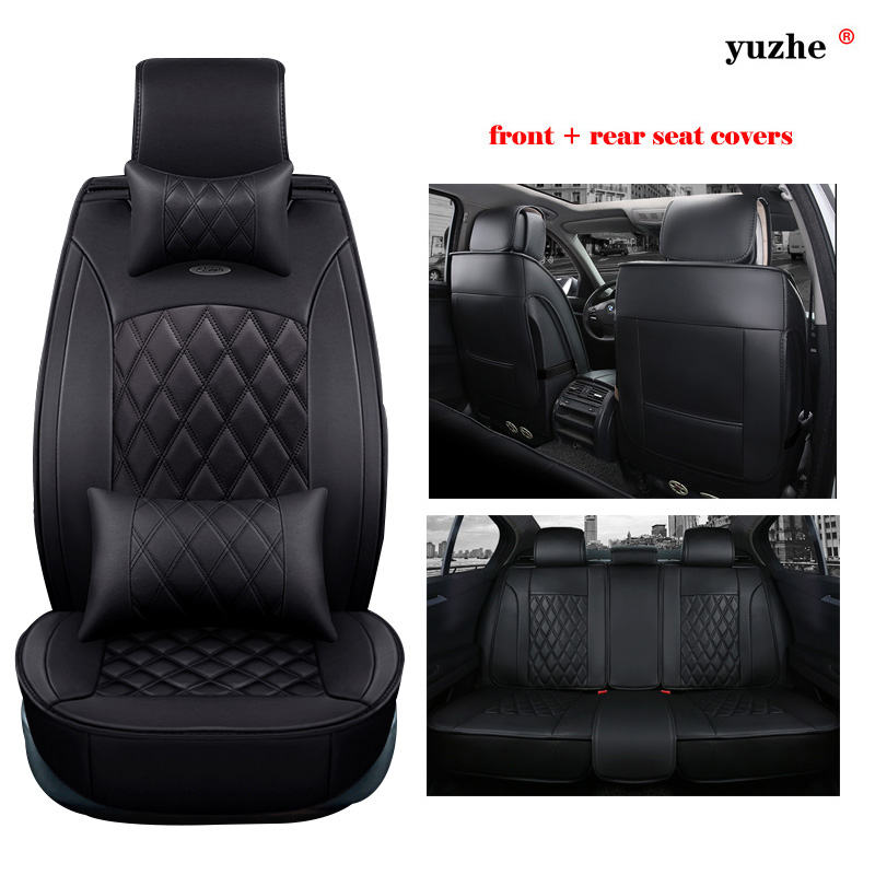 Yuzhe Couro Tampa De Assento Do Carro Para Hyundai Accent ELANTRA Verna  Sonata Santafe Tucson IX35 IX25 I30 Styling Acessórios Almofada