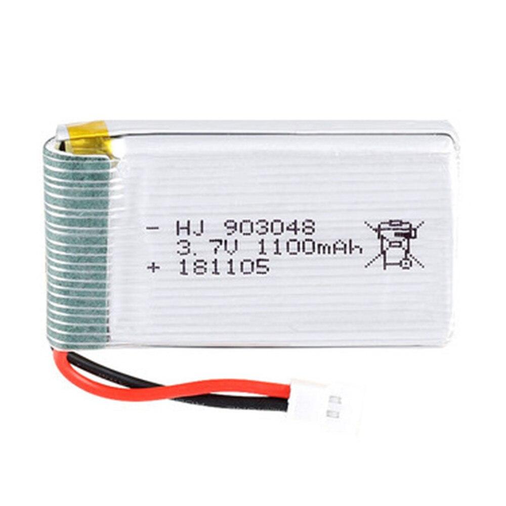 903048 3,7 V 1100mAh Lipo аккумулятор для SYMA X5S X5C X5SC X5SW M18 H5P X5 HuanQi 859B 727 RC Дрон части li-po аккумулятор 3,7 v + зарядное устройство