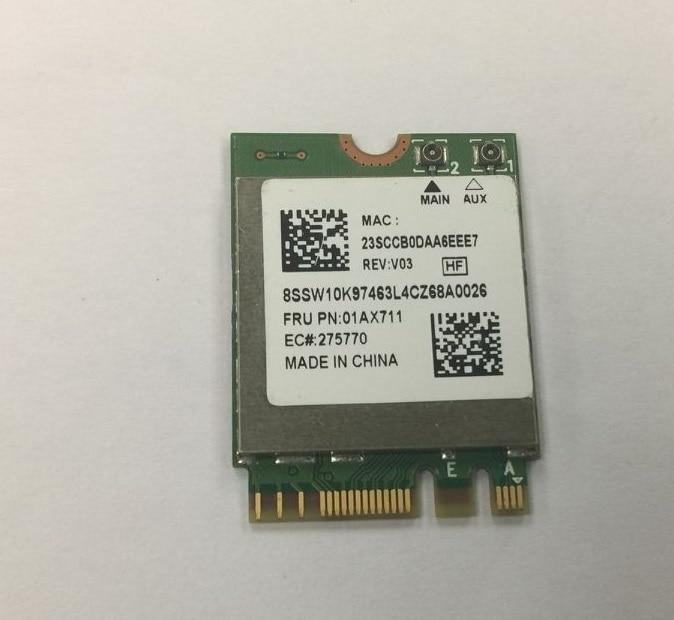 Продажа оптом SSEA new Realtek 8822BE RTL8822BE NGFF 802.11ac 2,4 ГГц/5 ГГц для Thinkpad L470 L570 T470 T570 FRU: 01AX711