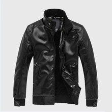 2019 весна новая мужская кожаная мода корейской версии ремонт локомотив куртка мужская одежда