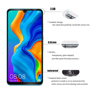 Image 4 - Glass For Huawei P30 lite Tempered Glass For Huawei P30 Lite 9D Protective Glass For Huawei P30 P20 Lite Pro Screen Protector
