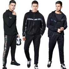 99b93d5552e08 Spor Spor Setleri Kostüm Erkekler Survetement Homme 2 parça Spor Giyim  Erkekler Egzersiz Spor Bahar Spor Eşofman Koşu Takım Elbi.