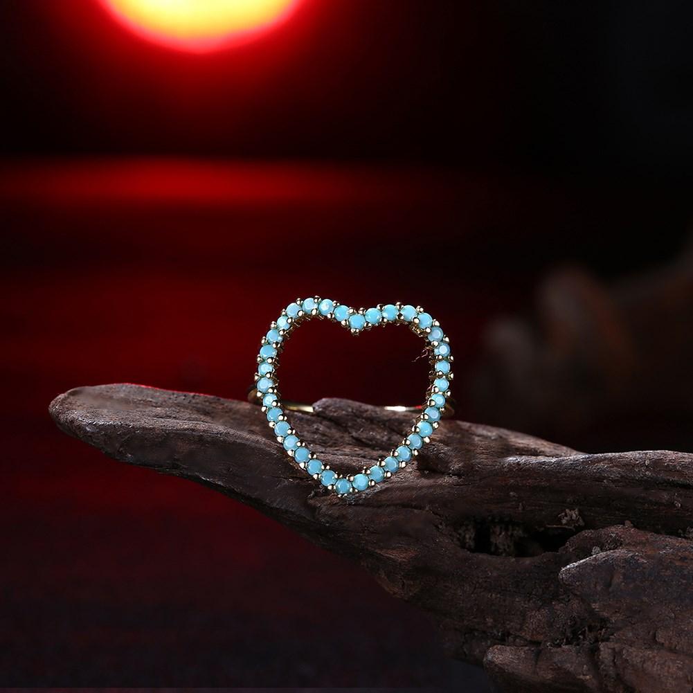 cuore turquoise de piedras grosse dia de la madre verdes green stone alliance bague ataturk sieraden Dahu Rico r Dahu Rico rings