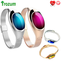Z18 Smart Bracelet Band Blood Oxygen Heart Rate Call reminder Luxury Fashion Smartband Wristband Wrist Watch for Woman gift