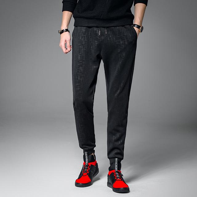M-2XL 3XL 2017 Primavera Harem Pants Casuais de Alta Qualidade Homens Moda Casual Homens Calças Dos Homens Corredores Pant Pantalones Hombre