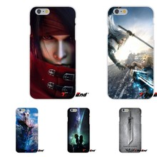 Game Final Fantasy IX Advent Children Silicone Case For iPhone X 4 4S 5 5S 5C SE 6 6S 7 8 Plus Galaxy Grand Core Prime Alpha(China)