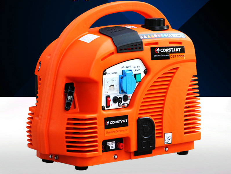 152F/1000W portable domestic gasoline generator 220V outdoor power equipment, portable four stroke low noise gasoline generator portable 750w 550va 650 950 1000 1200 1150