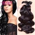 7A Peruvian Virgin Hair Body Wave 3 Bundle Deals Peruvian Body Wave Bundles Alionly Virgin Human Hair Bundles Soft Peruvian Hair