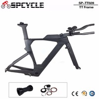 Spcycle Новый углерода TimeTrial триатлон рамки углерода T1000 углерода TT трек велосипедных рам, углерода TT фреймов с ГТО тормоза