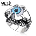 Punk Eagle Claw Eye Ring For Man 2016 Man's Personality Stainless Steel Jewelry Eye Ring BR8-204