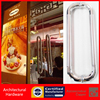 Entrance Door Handle 304 Stainless Steel Pull Handle PA 127 25 300mm For Entry Glass Shop