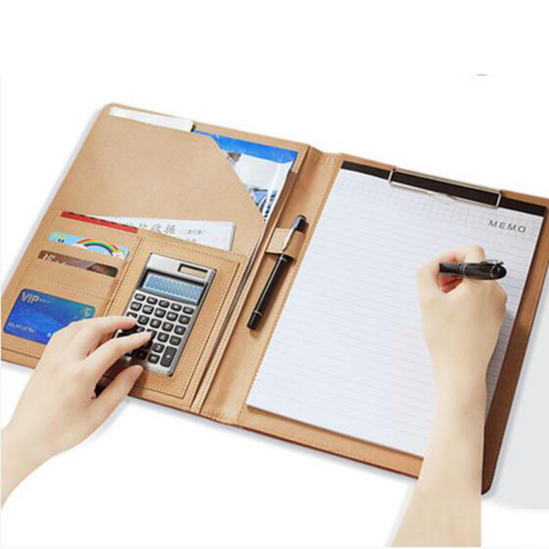 Deli Free shipping A4 size multifunctional cortical office file folder for documents escolares carpeta fichario pasta escolar free shipping office stationery a4 folder powerful single double clip pp material no peculiar smell carpetas pasta escolar w001