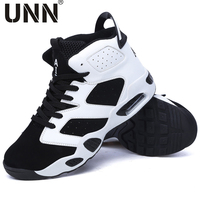 UNN Men's Casual shoes men Height Increasing air Slip On Breathable Men shoes Teenager High Heel Casual shoes for Man size35 44