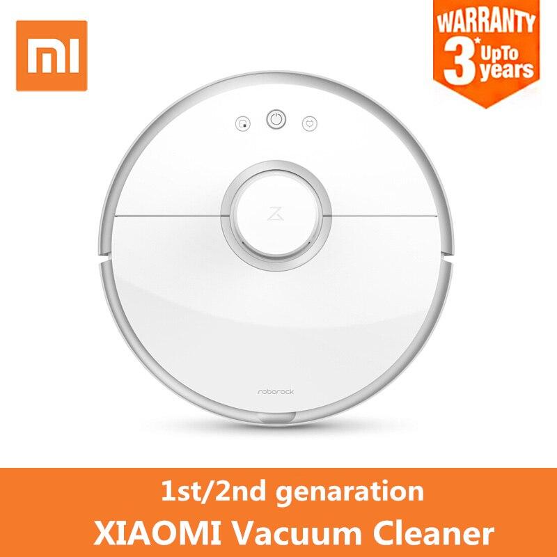 Оригинальный Xiaomi умный пылесос App дистанционного Управление 5200 мАч Батарея одновременная локализация и сопоставление чистую машину