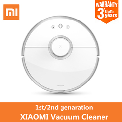 Original Xiaomi Smart Vacuum Cleaner App Remote Control 5200mAh Battery Simultaneous Localization And Mapping Clean Machine